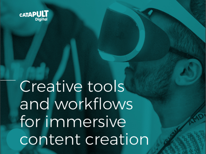 Creative tools and workflows for immersive content